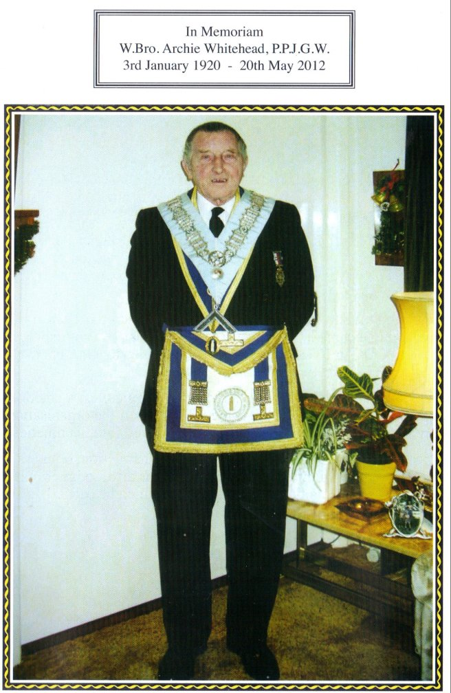 Archie Whitehead Vectensian Lodge